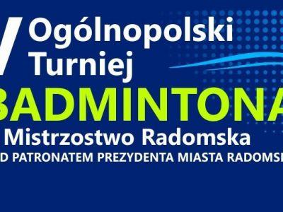 V Ogólnopolski Turniej Badmintona